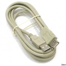 Кабель Defender удлинительный USB 2.0 A-->A  (1.8м