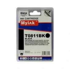 Картридж (T0821) EPSON R270/390/RX590/TX700/1410 ч (16ml, Dye) MyInk