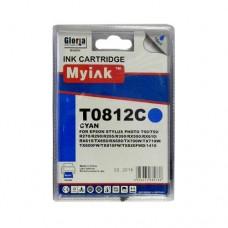 Картридж (T0822) EPSON R270/390/RX590/TX700/1410 син (16ml, Dye) MyInk