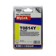 Картридж (T0824) EPSON R270/390/RX590/TX700/1410 жёлт (16ml, Dye) MyInk