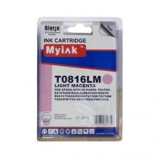 Картридж (T0826) EPSON R270/390/RX590/TX700/1410 св.кр (16ml, Dye) MyInk