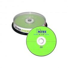 DVD+RW 4.7Gb 4X Mirex Cake box 100шт. перезаписыва