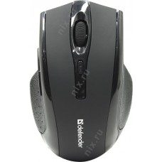 Defender Wireless Optical  Mouse Accura <MM-665 Black> (RTL) USB 6btn+Roll беспр.<52665>