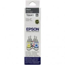Чернила Epson T6641 Black  для  EPS Inkjet L100