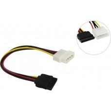 Переходник питания VCOM SATA-устройств (1big ->1SATA) 0.2м <VPW7571>
