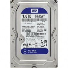 """HDD 1 Tb SATA 6Gb/s Western Digital Caviar Blue  <WD10EZEX> 3.5""""  7200rpm  64Mb"""