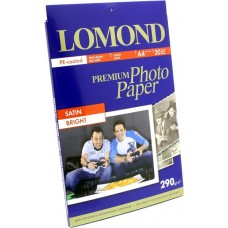 LOMOND 1108200 (A4, 20 листов, 290 г/м2) бумага  фото  сатин