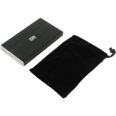 """AgeStar <SUB2S-Black> (EXT BOX для внешнего подключения 2.5"""" SATA HDD,  USB2.0,  Al)"""